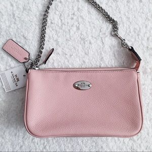 Coach Bags - Coach Pink Mini Purse/Large Wristlet 🎉HOST PICK🎉